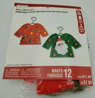 Christmas Holiday Felt Craft Kit