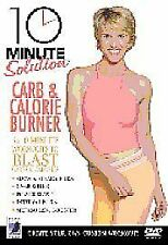 10 Minute Solution - Carb And Calorie Burner Workout Exercise Fitness DVD..New..