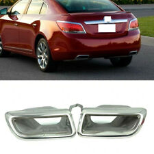 2x For Buick LaCrosse 2009-2013 Car Stainless Rear Right+Left Side Throat Frames