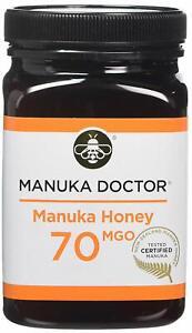 MANUKA DOCTOR, MANUKA HONEY, 70 MGO, Pure Tested Certified New Zealand 500G,