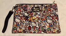 "Tokidoki Hello Kitty ""Circus Collection"" Laptop Zip Neoprene Bag"