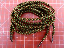Walking Boot Laces 180cm 5mm Diameter Colour Red,Green,Yellow & Black