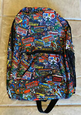 Marvel Comics Collage Flat Front Backpack