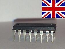 2x 74HC590 -  Binary Counter, HC Family, 40 MHz, 2 V to 6 V, DIP-16