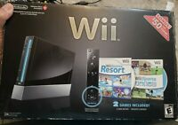 Nintendo Wii Console Sports Resort Motion Plus Controller Complete In Box TESTED