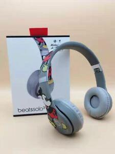 🚀 Beats Solo 3 Wireless Mickey Mouse's - 90th Anniversary Mickey's Headphones🎁