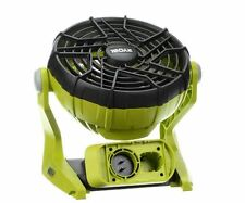 Ryobi 18V One+ Dual Power Portable Fan Compact (Tool-Only) Fully Adjustable New