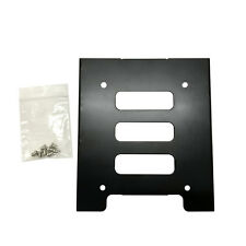 "Universal 2.5"" Ssd Hdd Hard Drive to 3.5"" Solid Steel Bay/Tray Mounting Bracket"
