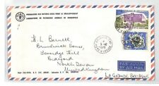 BT115 1976 Ivory Coast Abidjan Commercial Air Mail Cover {samwells}PTS
