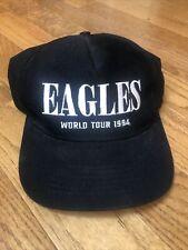 Rare Vtg Eagles World Tour 1994 Hell Freezes Over Snapback Hat Rare Done Henley