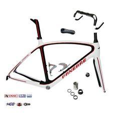 PANERAE Kit Completo Cuadro de Bicicleta Fibra de Carbono Anielle  Talla 55