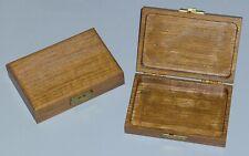 "Solid Oak Wood Jewelry Keepsake Storage Box 4"" X 6"" qty.  (1)"