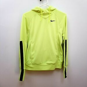 Nike Green Pullover Hoodie M Womens Athletic Dri Fit