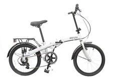 "Reflex Tempus 20"" Wheel 6 Speed Unisex Folding Folder Bike Bicycle Silver RF300"
