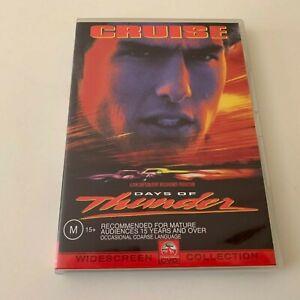 Days of Thunder DVD Region 4 Tom Cruise