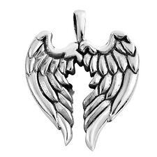 Guardian Angel Wings .925 Sterling Silver Pendant