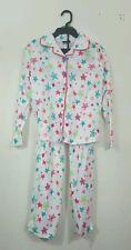 Girls Joe Boxer Pajamas Set Pants & Shirt Stras Green Red White  Size M , L