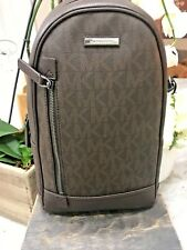 Michael Kors Signature Russel Mixed Material Sling pack / Campus Pack Backpack