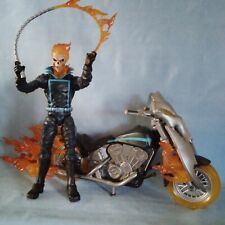 Marvel Legends GHOST RIDER, FLAME CYCLE MOTORCYCLE COMPLETE ACTION FIGURE EXCOND