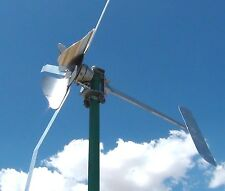 WindWalker M SUPER LOW wind turbine 12 DC 100 watts in breeze 750 watt max LOW