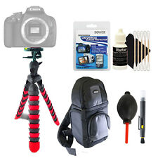 Flexible Tripod + Universal Screen Protector + Top Accessory Cleaning Kit