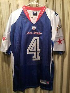 BRETT FAVRE Reebok men's (Size 52) Reebok #4 Pro Bowl Jersey VIKINGS 2010