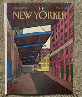 COVER ONLY ~ The New Yorker Magazine, June 20, 1983 ~ Roxie Munro
