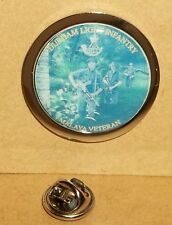 Durham Light Infantry Lapel Pin Badge