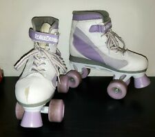 Roller Derby Firestar Girl's Roller Skates. Size 4. Missing inside lining. Used.