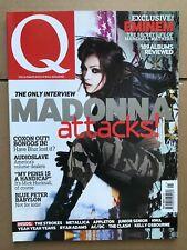 Madonna cover Q music magazine May 2003