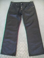 MENS JIL SANDER SHINY COATED JEANS MADE IN ITALY RRP $470 SIZE 34