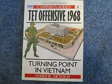 NEW TET Offensive 1968: Turning Point in Vietnam by James R. Arnold Paperback