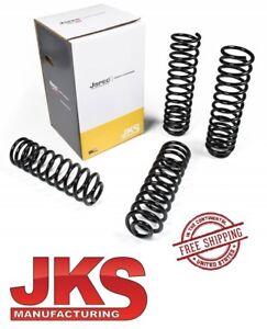 """JKS JSPEC™ 3.5"""" Front & Rear Coil Spring Kit For 07-18 Jeep Wrangler JKU 4 Door"""