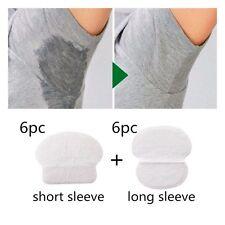 12pcs Sweat Armpit Underarm Pads Absorbing Disposable Anti Perspiration