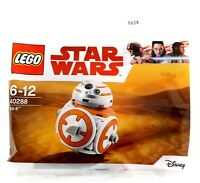LEGO STAR WARS BB-8 BRICK BUILT DROID FIGURE POLYBAG 40288 MAY 4TH - NEW SEALED