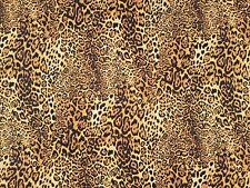 LEOPARD PRINT - 100% CRAFT COTTON PRINT FABRIC - ROSE & HUBBLE