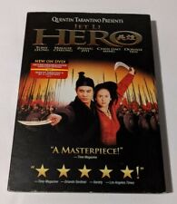 """Hero (Dvd, 2002, Widescreen) Starring Jet Li. """"An Action Movie for the Ages!"""""""
