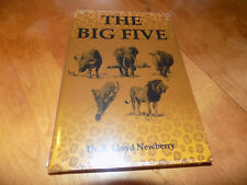 THE BIG FIVE African Safari Hunting Big-Game Hunter Hunt Hunts Gun Lion Book NEW