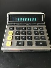 Vintage 1960's Canon Canola L813 Calculator Works perfectly