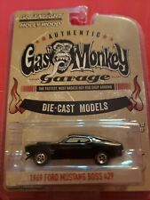 GREENLIGHT GAS MONKEY GARAGE 1969 FORD MUSTANG BOSS 429 1/64 BLACK