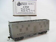 Sunshine Models HO-Scale ATSF Work Train - Bunker 2 Car #192867, Built Kit #W.1