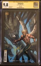 Hawkman 4 CGC 9.8 SS Signed By Dale Keown Virgin B Cover Not Zatanna
