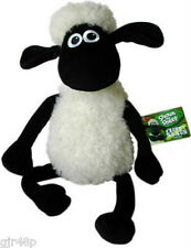 Official Aardman Animations Shaun The Sheep 40 cm Sitting Soft Plush Toy New UK