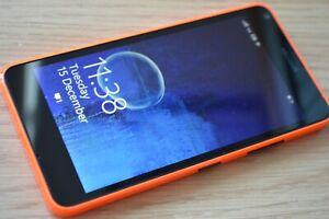Microsoft Lumia 640 LTE 8GB Smartphone - Black + Orange (GRADE A)
