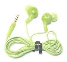 JVC HAFR6G Green Gumy Plus In-Line Microphone Headphone for BlackBerry Android
