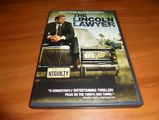 The Lincoln Lawyer (DVD Widescreen 2011) Matthew McConaughey Used
