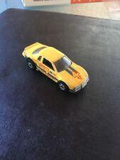 Mattel Hot Wheels 1983 Yellow Ford Thunderbird #4