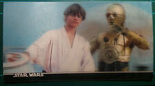 "Star Wars Topps 1996 3Di Widevision Card #8 ""Enter Luke Skywalker"""