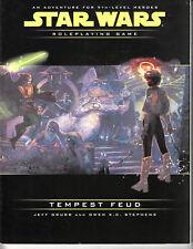 STAR WARS Rpg - Tempest Feud - Adventure for 9th level Heroes - WEG88659