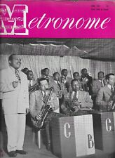 METRONOME MAGAZINE JUNE 1944-COUNT BASIE COVER